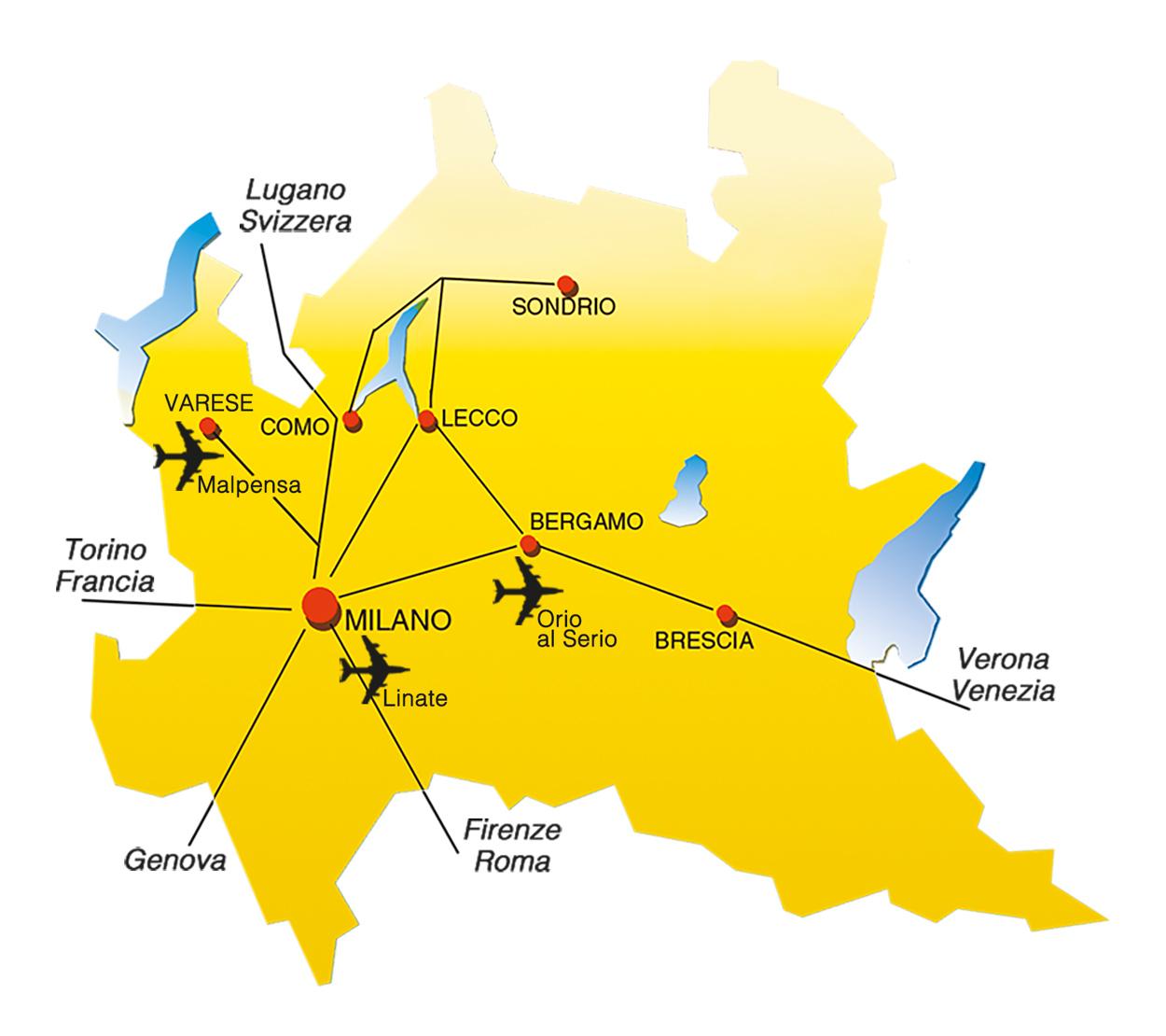 Dove si trova Ptre in Lombardia - Lecco