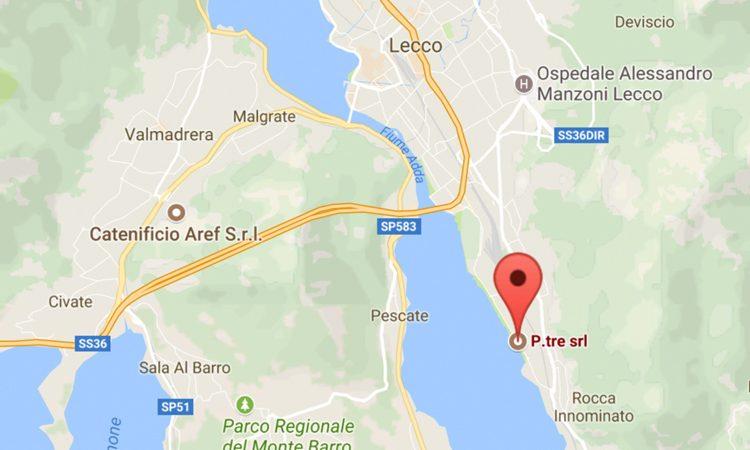 Mappa PtreGreenline