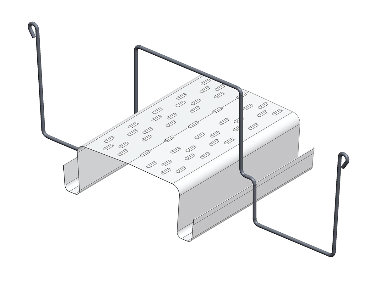 Sistemi di canalina appesi G.07 per ortaggi