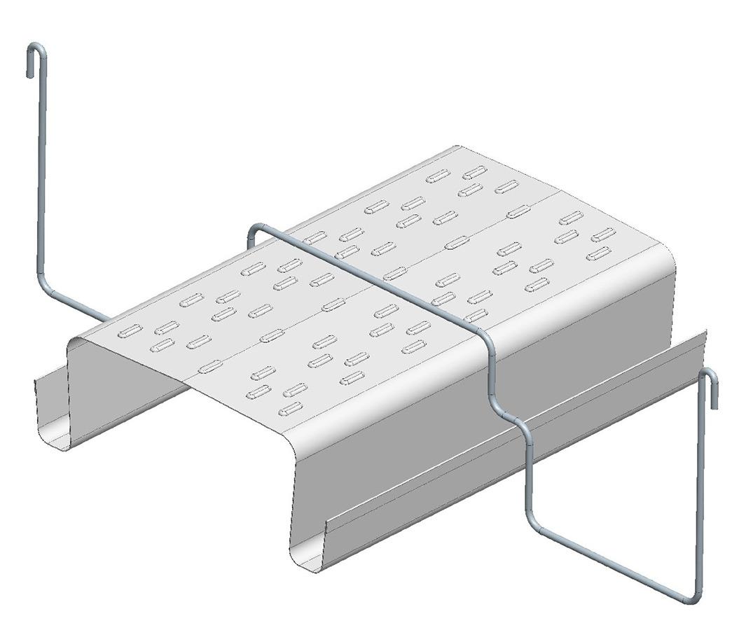 Sistemi di canalina appesi G.249 per ortaggi