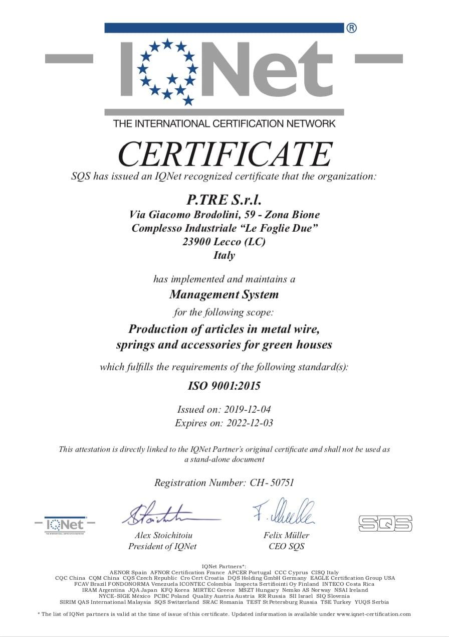 cert 319820 iq 9001 19 1 - Company